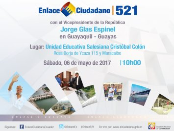 enlace ciudadano 521 informacionecuador.com 6 de mayo del 2017
