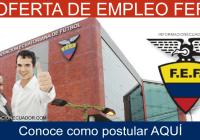 Oferta-de-trabajo-FEF-Federación-Ecuatoriana-de-Fútbol-(Empleo)-informacionecuador