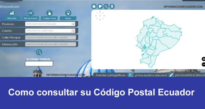 consultar codigo postal