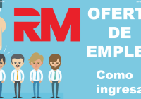 oferta empleo rm