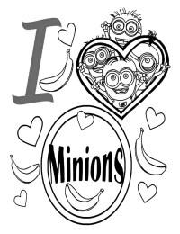 Dibujos Para Colorear De Los Minions Pintar E Imprimir