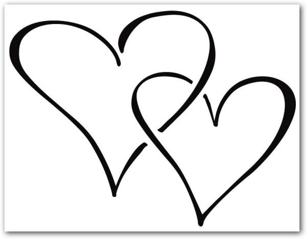 Corazones tiernos de Amor para colorear e imprimir  Informacin imgenes