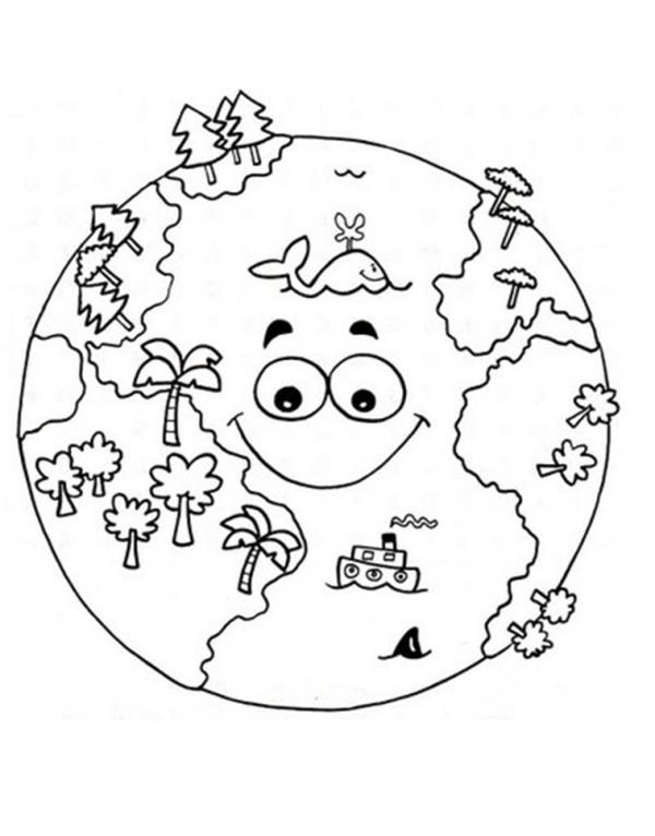 Imágenes infantiles para educar, colorear e imprimir en el