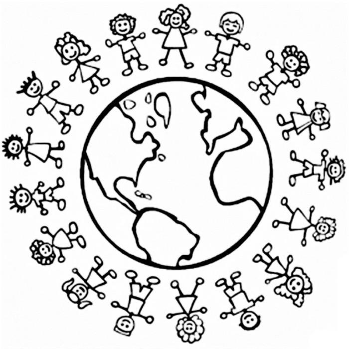 Imágenes del Día Mundial de la Población