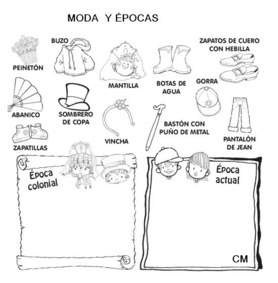 Imágenes del Día de la Escarapela con dibujos para