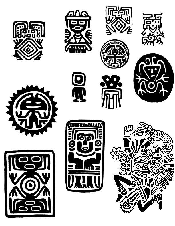 Información Con Imágenes Sobre La Simbología Maya Familia Amor
