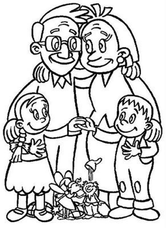 Dibujo De Sagrada Familia Para Colorear Auto Electrical Wiring Diagram