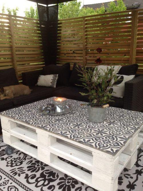 60 Imgenes de Muebles hechos con Palets sofas mesas