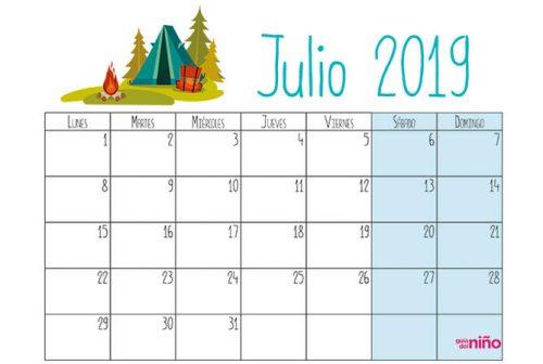 calendario mes de septiembre 2019