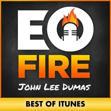 logo del podcast entrepeneur on fire de John Lee Dumas