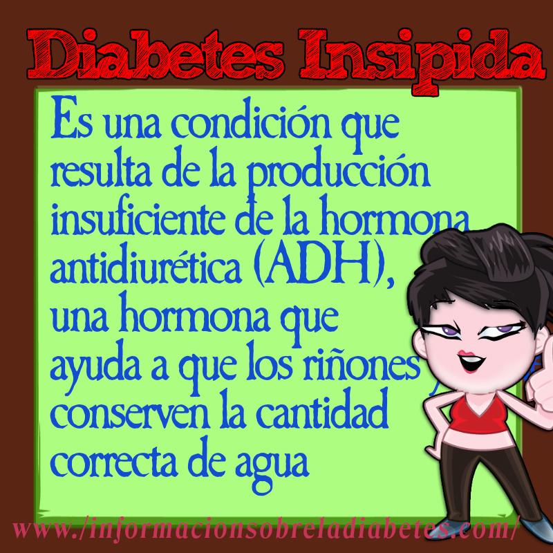 La Diabetes Insipidad