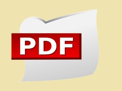 imagen que muestra el ícono del formato PDF
