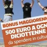 Bonus cultura 18enni