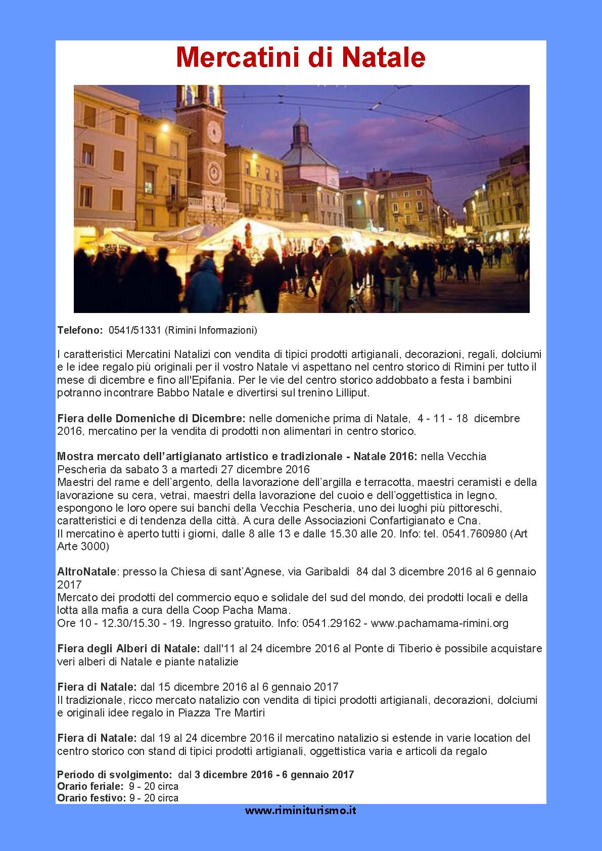 mercatini-rimini - Informagiovani Ancona