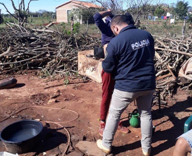 0008730035 Capturan a sospechoso de asesinato en matadero municipal en Misiones