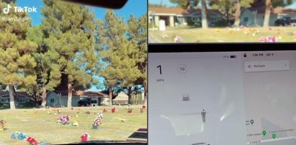 5ffed91f73052.r_d.726-579-1980 ¿Ya lo viste? - Sensores de un auto Tesla detectan a supuesto fantasma en un cementerio.