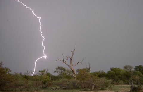 Lightning kills villager