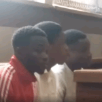 Four murderers escape from police custody