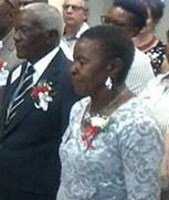 Frans Aupa Indongo says 'I do'