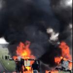 Horrible head-on crash near Otavi