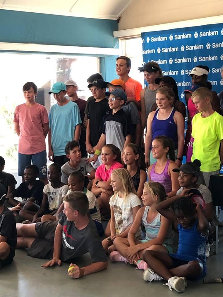 Junior Tennis Tournament a huge success
