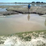 Drought leads to vandalism of water canal
