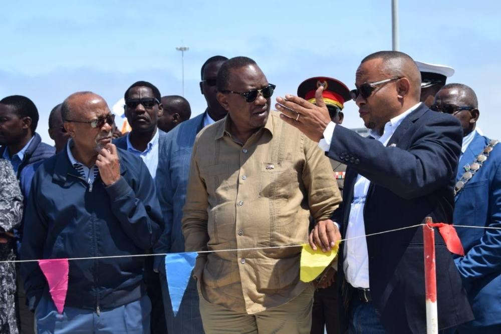 President Kenyatta impressed by Walvis Bay port facilities