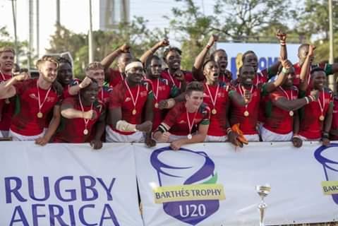 Kenya end Namibia's dominance in World Junior Rugby