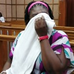 Woman denies trafficking girls in exchange for food