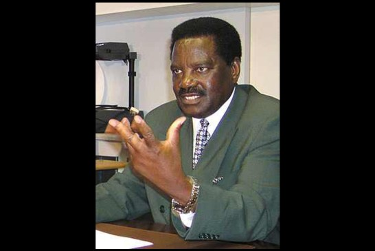 Dr. Nickey Iyambo has passed on