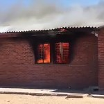 Fire destroys building at Ongha SSS