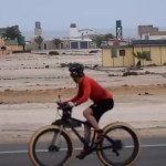 Cyclist braves lions on trip down Skeleton Coast