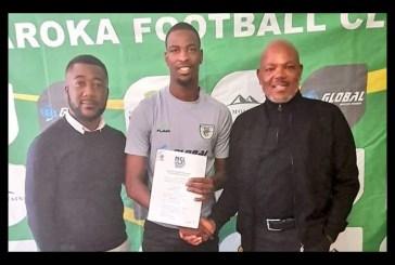 Kazapua signs with Baroka FC