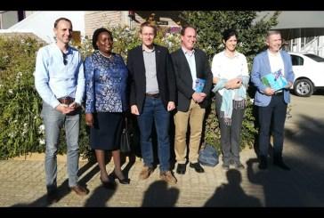 President of the German Bundesrat visits Namibia