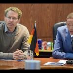 German Bundesrat President visits coast