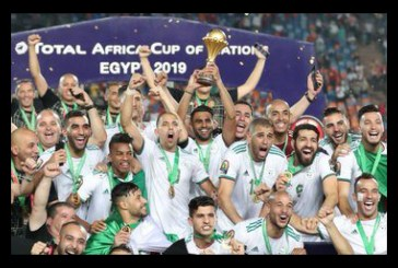 Algeria are the champions of Africa