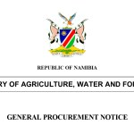 Ministry of Agriculture, Water and Forestry – Notice