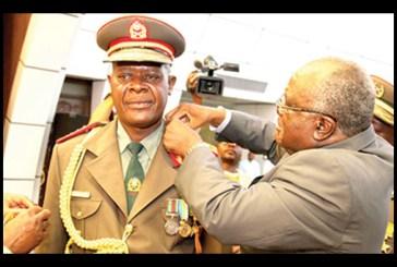 NDF Chief bedridden