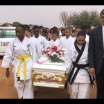 Emotional send off for young Danelle