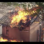 Community lodge destroyed by fire