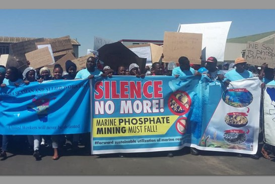 Petition handed over to stop phosphate mining