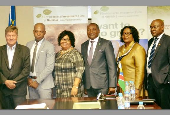 Environment fund secures N$127 mil
