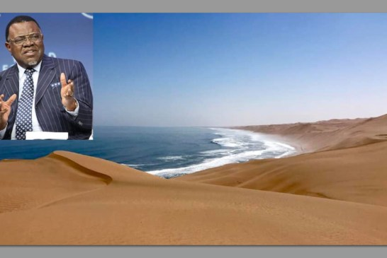 Namibia commits to preserving ocean to prevent climate change