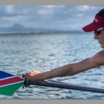 Namibian rower excels at FISA Olympic qualifiers