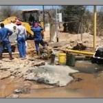 Massive pipe burst in Klein Windhoek