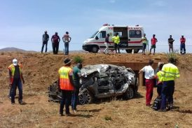 Man survives crash