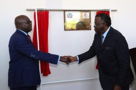 President Inaugurates Military College