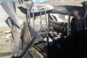 Shack fire victims seek assistance