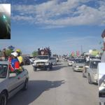 Police vehicles damaged during riotous assembly