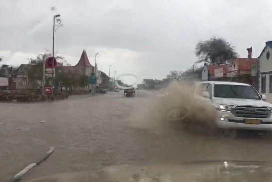 Cloudburst has Karibib awash with flood water